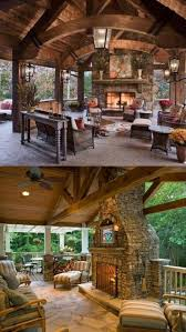best 25 rustic outdoor fireplaces ideas on pinterest rustic