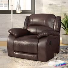 wall hugger loveseat recliners wayfair