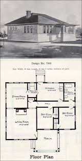 tiny prairie style bungalow 1908 william a radford plan no