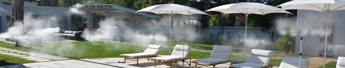 Misters For Patio by Industrial Misting Systems In Scottsdale Az Pacific Mist