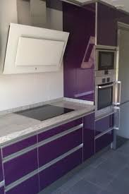 Purple Kitchen Designs by Pleasing Modern White Polished Wood Base Kitchen Islands Design