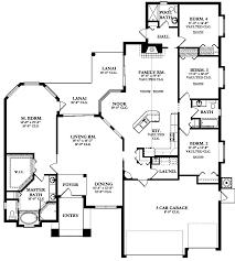 Capri II House Plans floor plans home building designs
