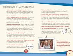 the how to on effective gallery walks for visual meetings u2014 pdf