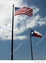 Texaa Flag American And Texas Flag Stock Image I1827914 At Featurepics