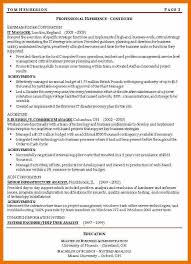 Resume Objective Manager Position 8 Resume Objective Management Position Budget Reporting