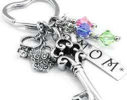 personalized birthstone keychains my keychain personalize keychain gift for