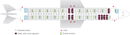 United 787 Seat Map Boeing 737 800 Air Transat