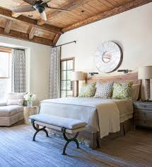 united states rustic elegance decor bedroom with wood head board