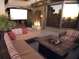 Backyard Outdoor Theater by Paver Patios Hgtv