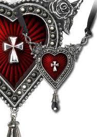 sacred heart jewelry unique jewelry gorey details edward gorey tim burton