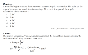 rotational kinematic equations constant angular acceleration