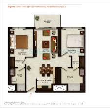 1400 Sq Ft 2 Bhk 1400 Sq Ft Apartment For Sale In Wave City Center