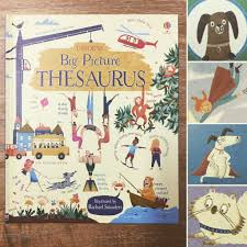 osborne u0027s u0027big picture thesaurus u0027 illustrated by rachael saunders