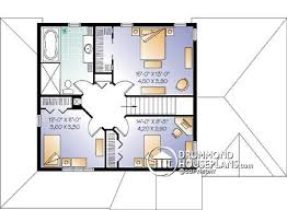 country house plan with separate dining and living rooms