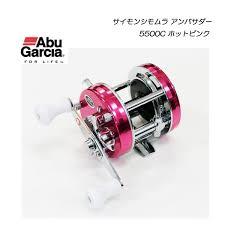 abu 5500c abu garcia simon shimomura ambassadeur 5500c hot pink tackle