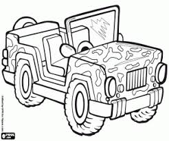 military jeep coloring page military coloring pages printable games
