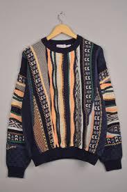 berto lucci carlo colucci coogi versace look vintage sweater