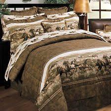 Full Bed Comforters Sets Full Horse Comforter Set Ebay