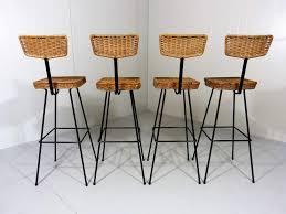 Rattan Bar Table Set Of 4 Rattan Bar Stools