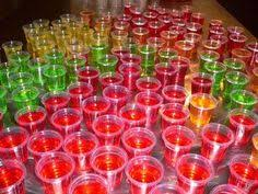 pudding shots let u0027s party pinterest bebida mesa de snack