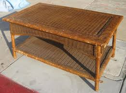 wicker end tables sale coffee table stirring rattane table image ideas mid century