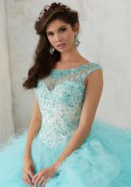 quinsea era dresses ruffled tulle quinceañera gown style 60013 morilee