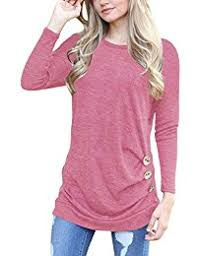 Blush Colored Blouse Amazon Com Pinks Blouses U0026 Button Down Shirts Tops U0026 Tees
