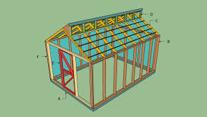 Garden Shed Greenhouse Plans Free Greenhouse Plans Howtospecialist How To Build Step By