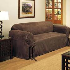 Sure Fit 3 Piece Sofa Slipcover by 3 Seat Leather Sofa Covers Centerfieldbar Com