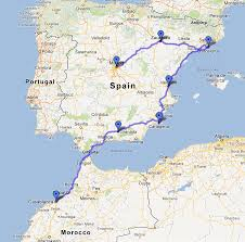 Menorca Spain Map by Madrid To Marrakech The Maps
