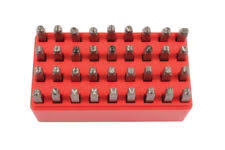 laser 6117 letters number punch set ideal for marking cycles tools