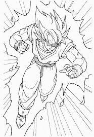 dragon ball goku super saiyan 2 coloring pages coloring