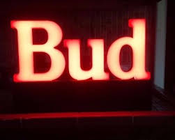 bud light light up sign vintage 1991 bud light up sign 17 x 11 ships from usa 70 00