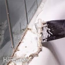 Removing Bathtub Caulking How To Remove Caulk From Tub Family Handyman