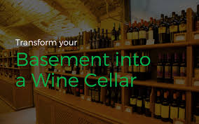 how to transform your boring basement into an elegant wine cellar