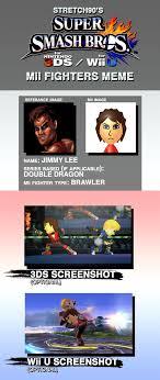 Battletoads Meme - jimmy lee smash mii fighter meme by stretch90 on deviantart