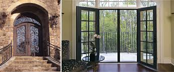 Iron Patio Doors Wrought Iron Patio Doors Home Design Ideas And Pictures
