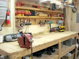 garage workbench and cabinets garage workbenches thefarmersfeast me