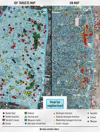 un map what you can t see on the un maps of gaza