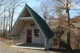 small a frame cabin plans 448 sq ft tiny a frame cabin for sale w land for 15k tiny