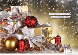 happy new year merry christmas 3d animated greeting cards designs