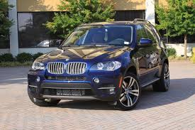 blue bmw x5 2011 x5 diesel sea blue with style 300 rims