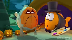 mr grumpfish doesn u0027t like halloween happy halloween nick jr