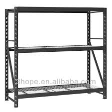Metal Storage Shelves Ce Certificated Steel Q235 Metal Racks For Shops Spray Paint Metal