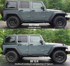 2012 jeep wrangler leveling kit jk teraflex leveling kit and spidertrax spacer install