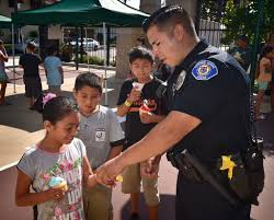behind the badge good vibes abound in garden grove on national