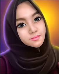 tutorial smudge painting indonesia tutorial smudge painting hijab girl no speed art steemit