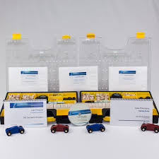 the leanman deluxe double car factory kit