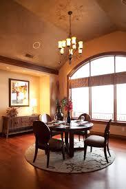 Round Rug Dining Room Bhg Centsational Style Captivating - Round dining room rugs