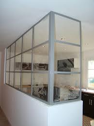 cloison vitree cuisine salon cloison vitré en fer forgé